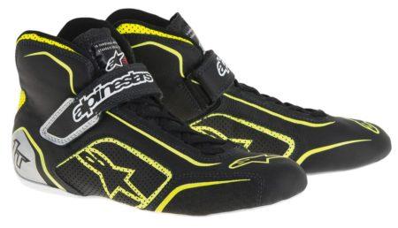 Alpinestars Tech 1-T Race Boots in Black & Yellow