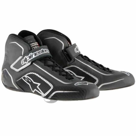 Alpinestars Tech 1-T Race Boots in Black & Anthracite