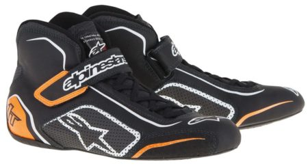 Alpinestars Tech 1-T Race Boots in Black & Orange
