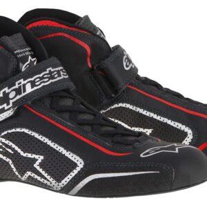 Alpinestars Tech 1-T Race Boots in Black & Red thumbnail