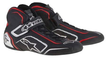 Alpinestars Tech 1-T Race Boots in Black & Red