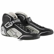 Alpinestars Tech 1-T Race Boots in Black & Silver