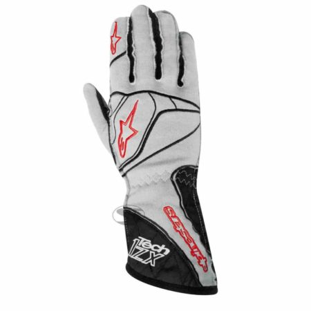 Alpinestars Tech 1-ZX Racing Gloves in Cool Grey