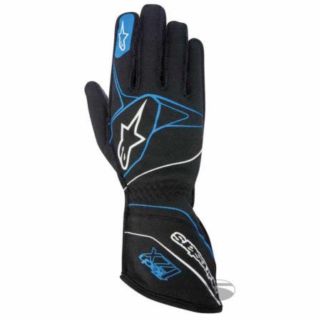 Alpinestars Tech 1-ZX Racing Gloves 2017 in Black & Blue