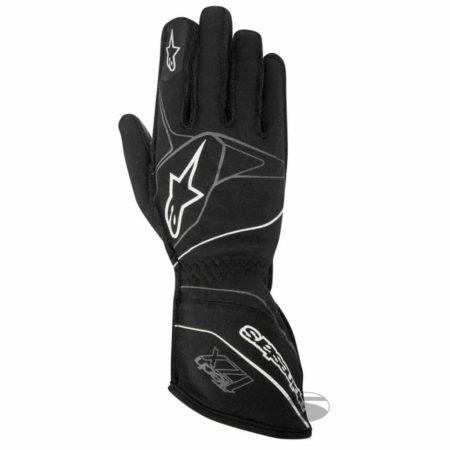 Alpinestars Tech 1-ZX Racing Gloves 2017 in Black & White