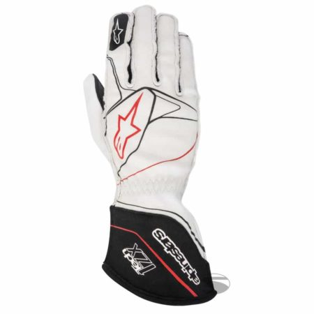 Alpinestars Tech 1-ZX Racing Gloves 2017 in White