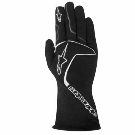 Alpinestars Tech 1 Race Gloves in Black & White