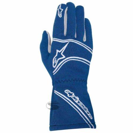 Alpinestars Tech 1-Start Race Gloves in Blue