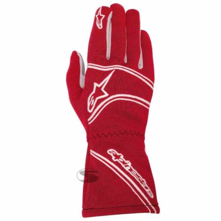 Alpinestars Tech 1-Start Race Gloves in Red