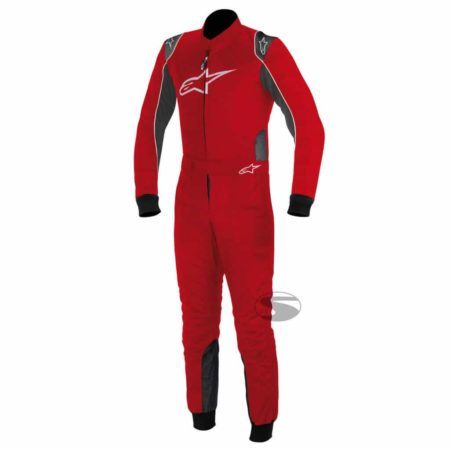 Alpinestars K-MX 9 S Youth / Childrens Kart Suit in Red