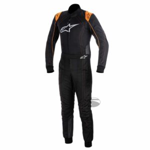 Alpinestars K-MX 9 Kart Suit in Black & Orange thumbnail