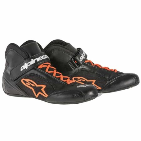 Alpinestars Tech 1-K Kart Boots in Black & Orange