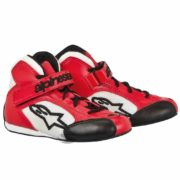 Alpinestars Tech 1-KS Childrens Kart Boots in Red