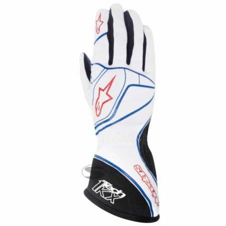 Alpinestars Tech 1-KX Kart Gloves in White