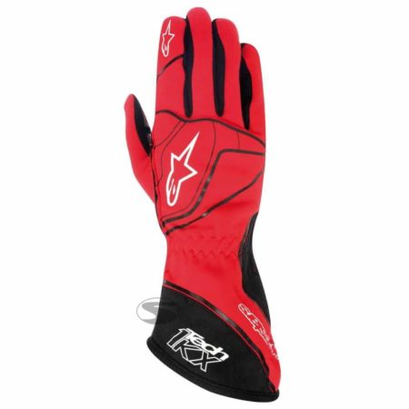 Alpinestars Tech 1-KX Kart Gloves in Red