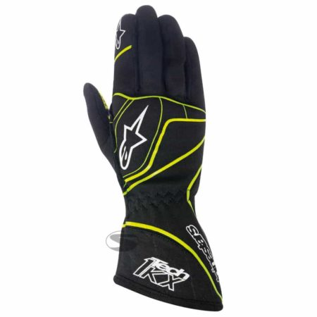 Alpinestars Tech 1-KX Kart Gloves Black & Yellow