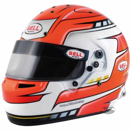 Bell RS7 Pro Helmet in Falcon Red
