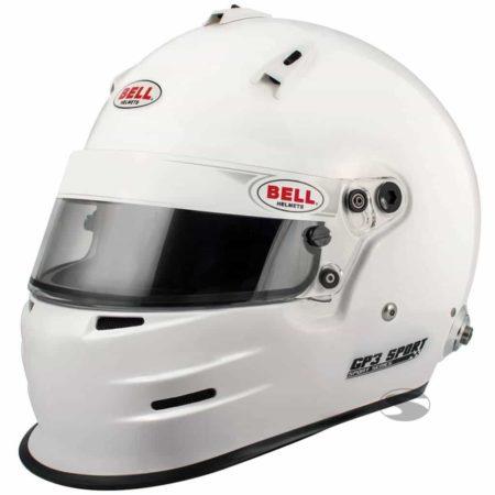 Bell GP3 Sport White Full Face Helmet