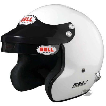 Bell Mag 1 Open Face Helmet in White