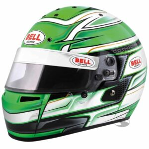 Bell KC7 CMR Karting Helmet in Venom Green