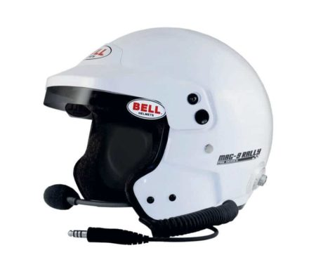 Bell Mag 9 Pro Rally Helmet with Peltor Compatible Intercom System