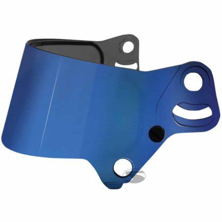 Bell Dual Screen Visor For KC7 Helmets in Multi Layer Blue