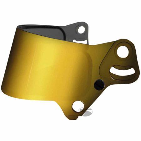Bell Dual Screen Visor For KC7 Helmets in Gold Mirrored