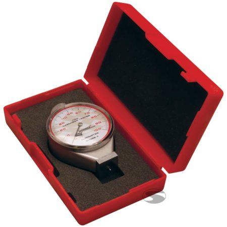 Longacre Analogue Dial Durometer in Red Plastic Box