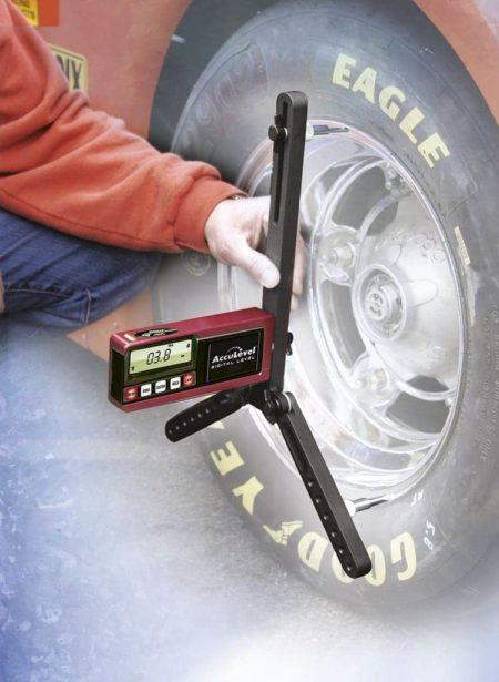 Longacre Digital Castor Camber Gauge With Adaptor