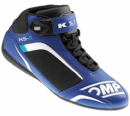 OMP KS-2 Kart Boots in Blue & Black