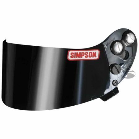 Replacement Tinted Visor for Simpson Devil Ray