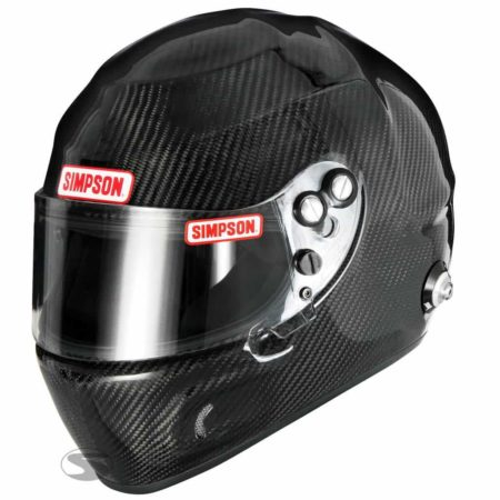 Simpson Carbon Devil Ray Racing Helmet