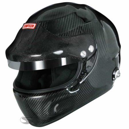 Simpson Carbon Devil Ray Touring Helmet