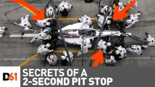 2 second f1 pitstops