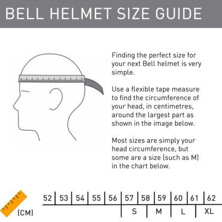 Bell Helmet Size Guide