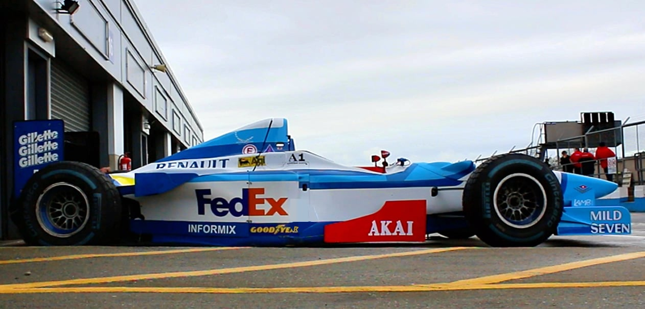 What's It like to Drive an F1 Car? 1997 Benetton Test (Video)