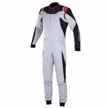 Alpinestars GP Race Suit-Silver / Black
