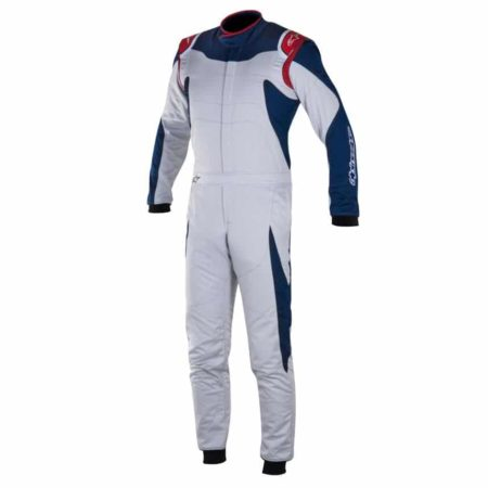 Alpinestars GP Race Suit-Silver / Blue