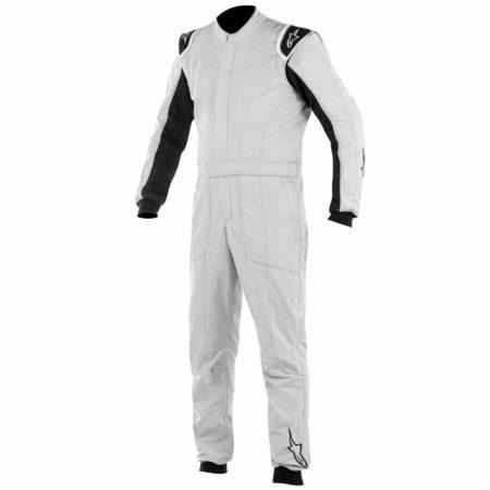 Alpinestars Delta Race Suit-Silver / Black