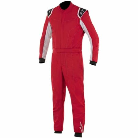 Alpinestars Delta Race Suit-Red / Silver