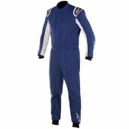 Alpinestars Delta Race Suit-Navy Blue / Silver