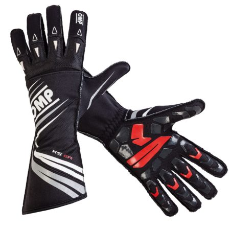 OMP KS-2R Kart Gloves (Kids & Adults)