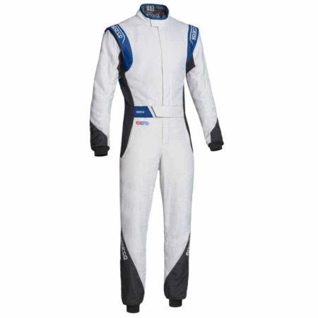 Sparco Eagle RS-8.2 Race Suit-White / Black / Blue