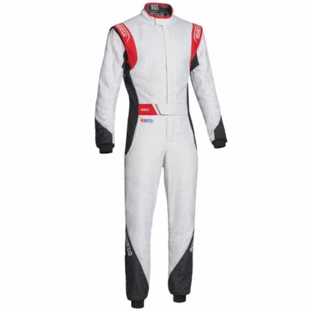 Sparco Eagle RS-8.2 Race Suit-White / Black / Red