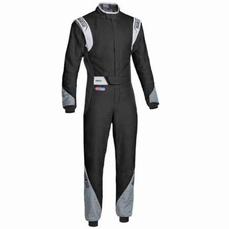 Sparco Eagle RS-8.2 Race Suit-Black / Grey