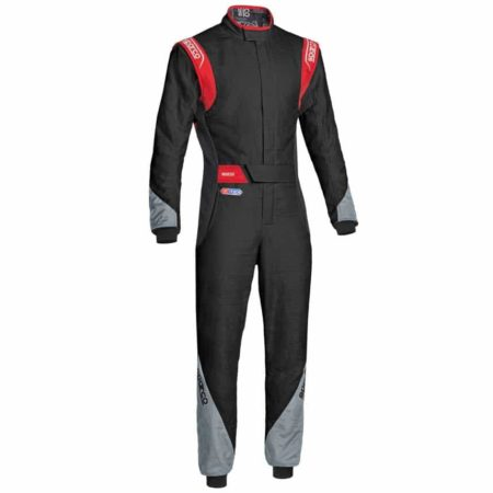 Sparco Eagle RS-8.2 Race Suit-Black / Grey / Red