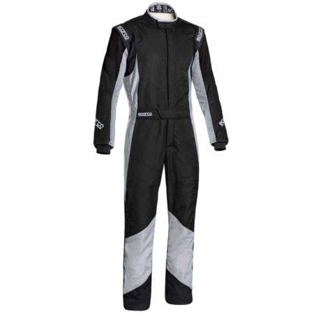 Sparco Grip RS-4 Race Suit-Black / Grey