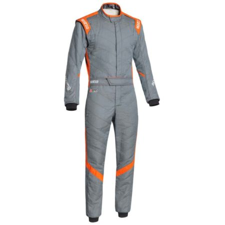 Sparco Victory RS-7 Race Suit-Grey / Orange