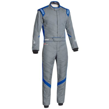 Sparco Victory RS-7 Race Suit-Grey / Blue