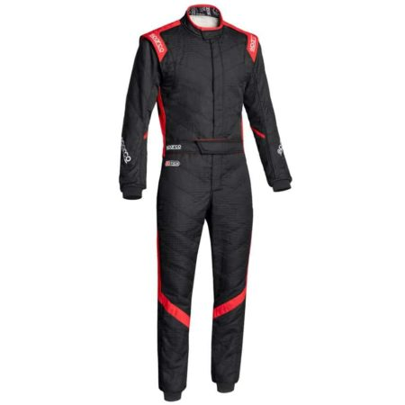 Sparco Victory RS-7 Race Suit-Black / Red